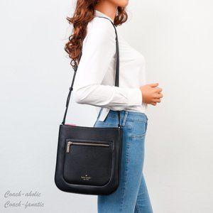 NWT Kate Spade Leila Leather Top Zip Crossbody